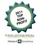 philanthropedia top nonprofit medal