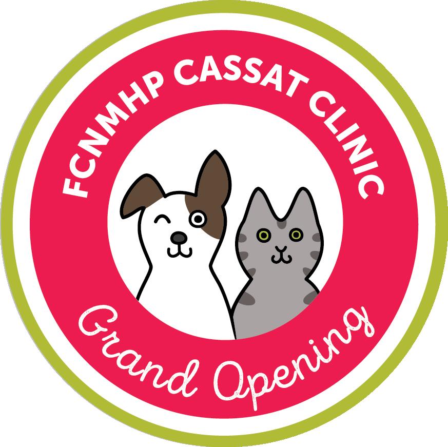 Cassat Grand Opening Logo