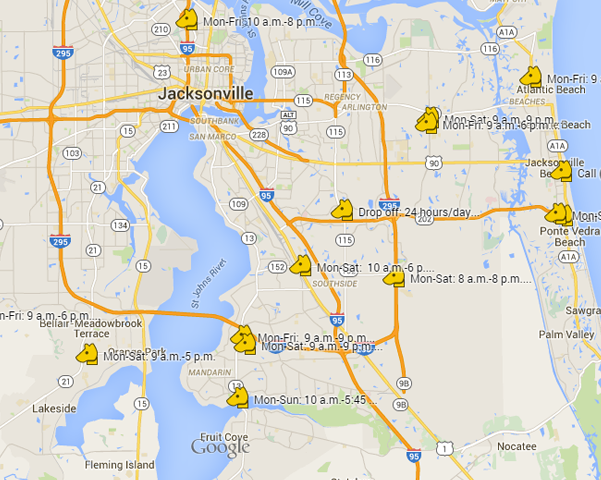 Click here for a map of Pet Food Drive Locations!