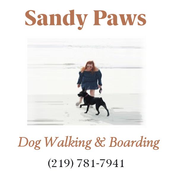 Sandy Paws Logo